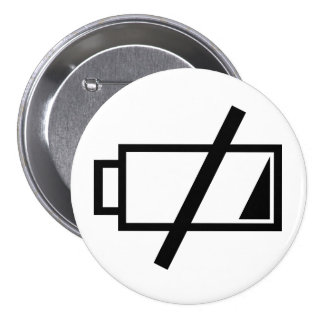 No energy pinback button