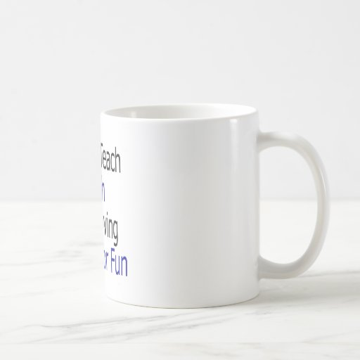 No enseño a la matemáticas para una vida que la ha taza de café