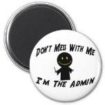 No ensucie con el Admin Iman
