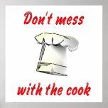 No ensucie con el cocinero poster