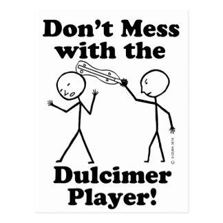 No ensucie con el jugador del Dulcimer Postal