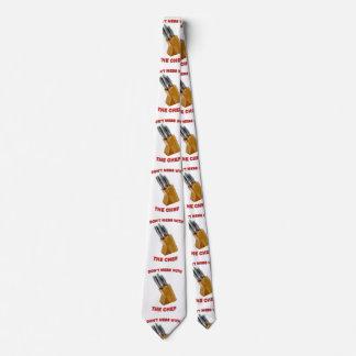 No ensucie con el lazo del cocinero corbatas personalizadas