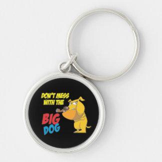 No ensucie con el llavero grande del perro