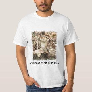 ¡No ensucie con el 'Munk! Camiseta Poleras