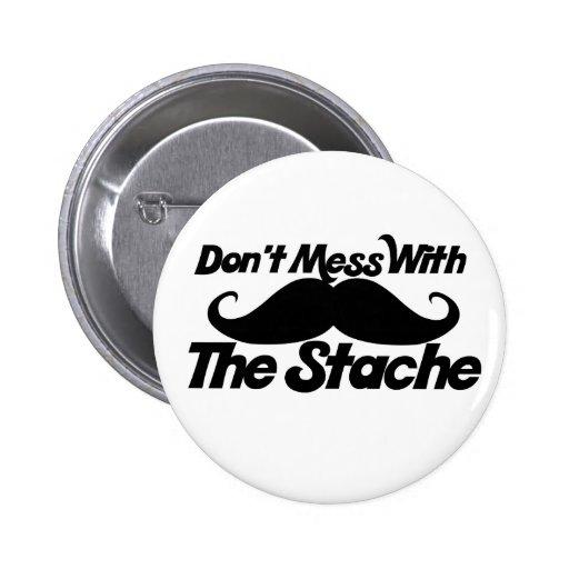 No ensucie con el Stache Pins