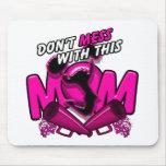 No ensucie con esta mamá de la alegría alfombrilla de ratón