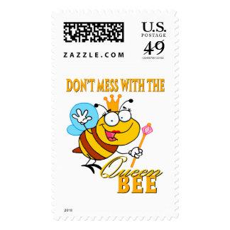 no ensucie con la abeja reina