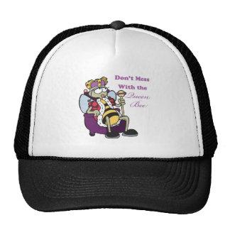 no ensucie con la abeja reina gorro