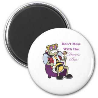 no ensucie con la abeja reina iman de frigorífico