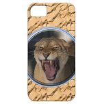 No ensucie con la leona iPhone 5 carcasas