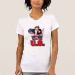 No ensucie con los E.E.U.U. Camisetas