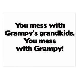 No ensucie con los Grandkids de Grampy Postal