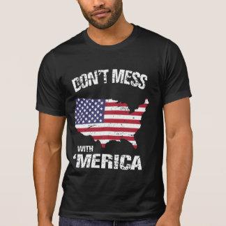 No ensucie con 'Merica Camisetas