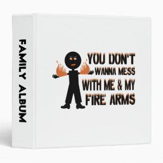 """No ensucie con mis armas del fuego carpeta 1 1/2"""""""