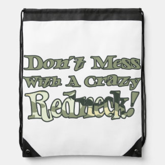No ensucie con una mochila loca del lazo del campe