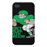 No ensucie con verde iPhone 4 carcasa