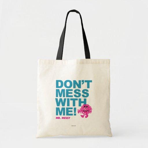 No ensucie conmigo bolsa lienzo