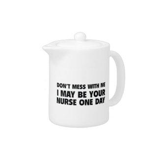 No ensucie conmigo que puedo ser su enfermera un d