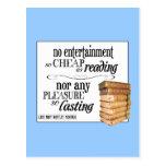 No Entertainment so Cheap as Reading Postcards