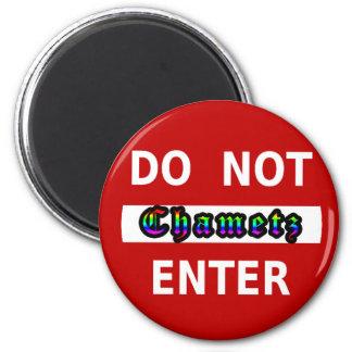 No entre en - Chametz Imán De Frigorífico