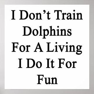 No entreno a los delfínes para una vida que la hag impresiones