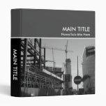 No Entry Construction Photo Book Vinyl Binders