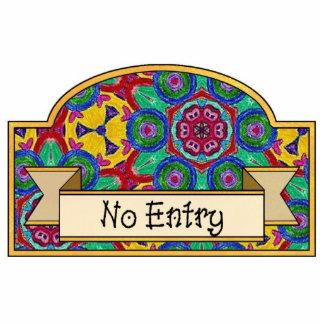 No Entry - Decorative Sign Statuette