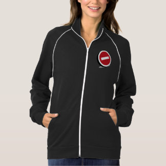 No Entry Sign Womens Jacket
