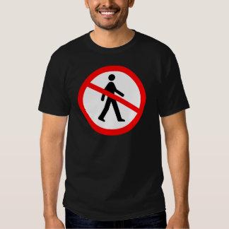No Entry Symbol Tshirt