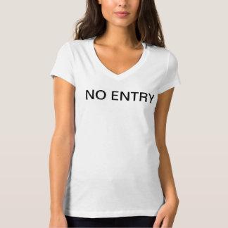 No-entry T T-Shirt