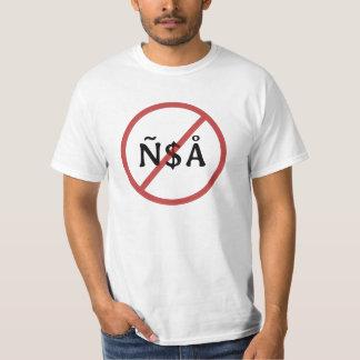 No Enye-Dollar-Angstrom! T-shirt