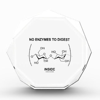 No Enzymes To Digest (Cellulose) Inside Award