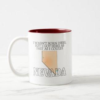 No era aquí nacido… Nevada Taza Dos Tonos