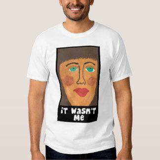 No era yo camiseta por Mandee Remera