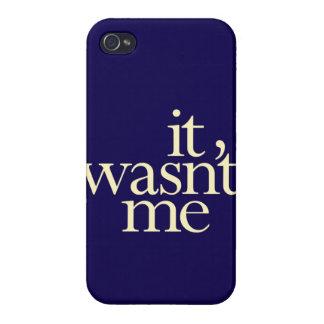 """""""No era yo """" iPhone 4/4S Funda"""