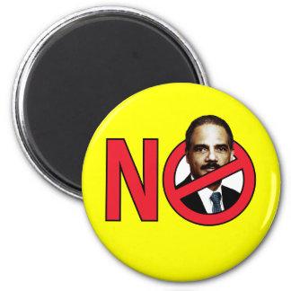 No Eric Holder 2 Inch Round Magnet