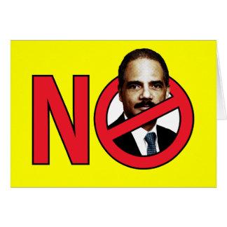 No Eric Holder Card