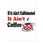 No es el café postal