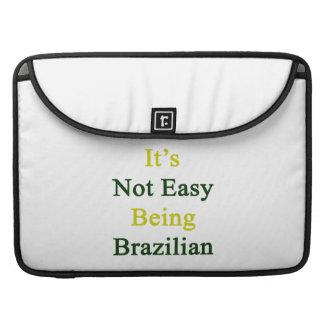 No es el ser fácil brasileño fundas para macbooks