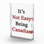 No es el ser fácil canadiense