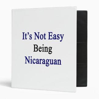 No es el ser fácil nicaragüense
