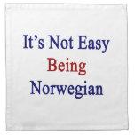 No es el ser fácil noruego