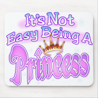 No es el ser fácil un cojín de la princesa ratón alfombrillas de ratones