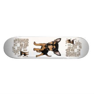 No es el tamaño tablas de skate