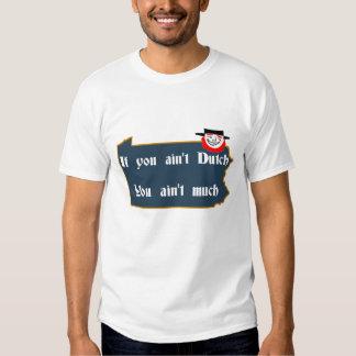 No es holandés, el PA y el remiendo Camisas
