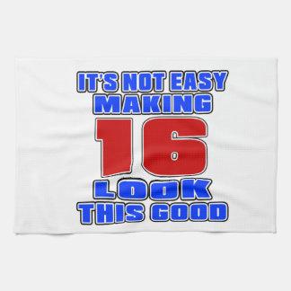 No es la mirada de fabricación fácil 16 esto bueno toallas de cocina