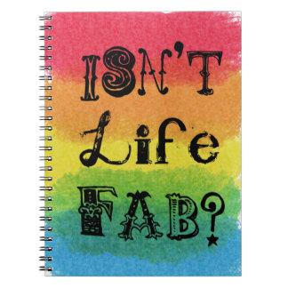 ¿No es la vida fabulosa Cuadernos