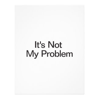 No es mi problema tarjetón