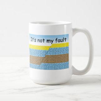 No es mi taza de la falta
