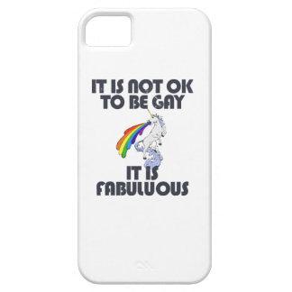 No es muy bien ser gay. Es fabuloso Funda Para iPhone 5 Barely There